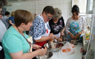 Warsztaty kulinarne w ramach projektu współpracy