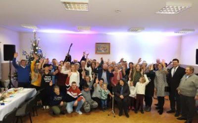 Spotkanie świąteczne w KGW w Kiełczewie