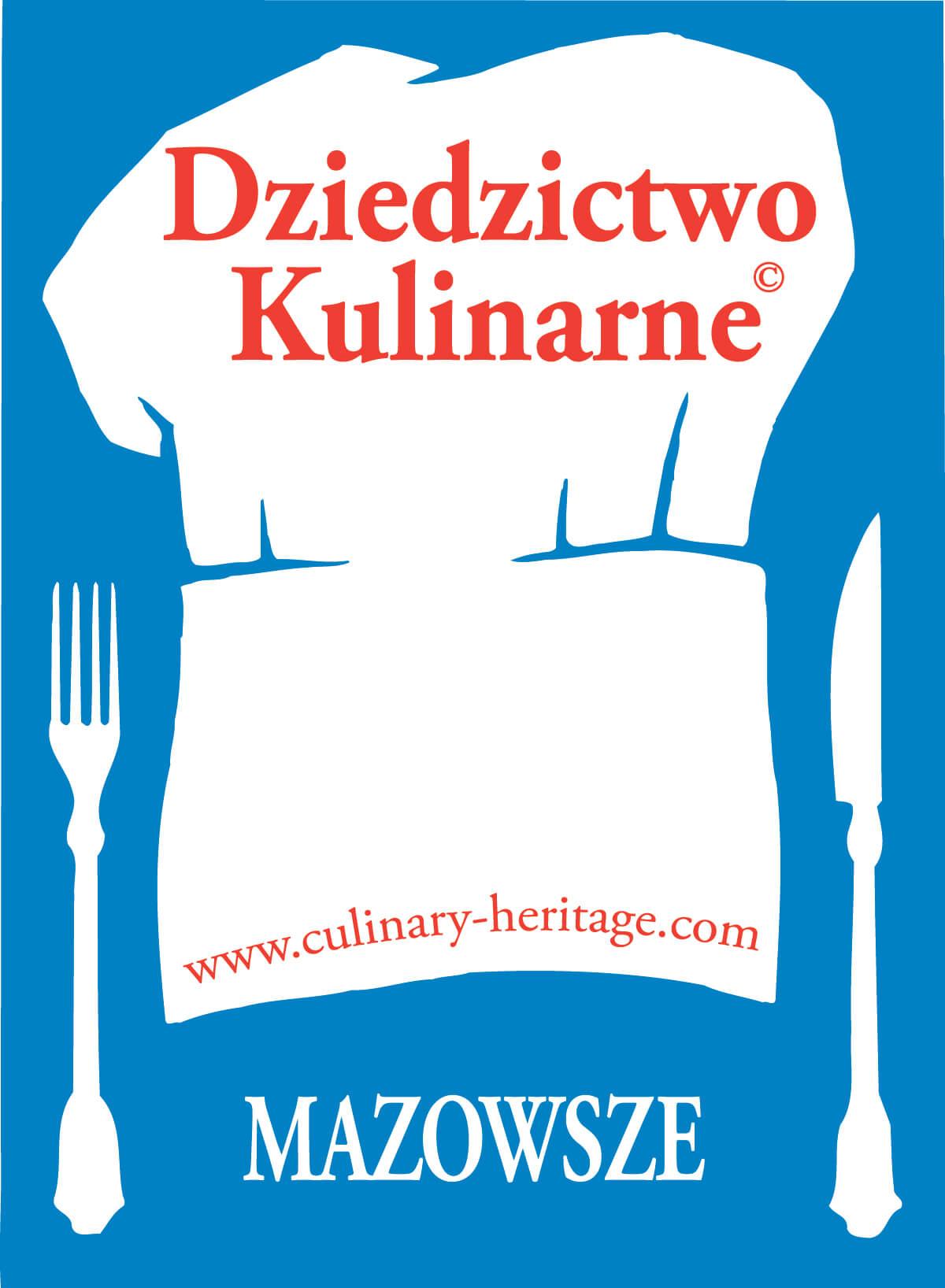 Logo Sieci Dziedzictwa Kulinarnego Mazowsze