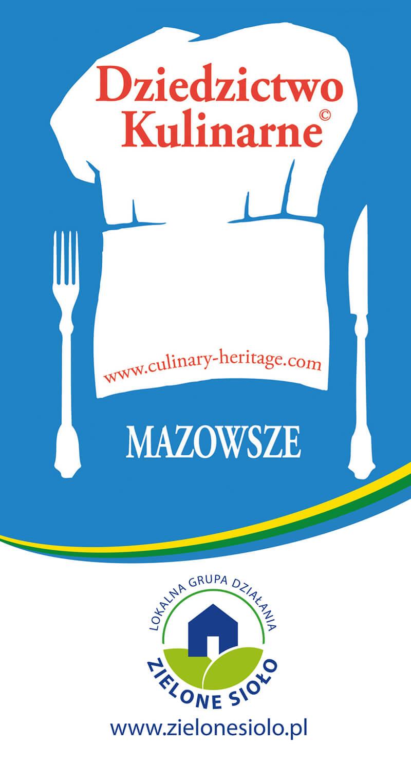 Sieć Dziedzictwa Kulinarnego Mazowsze Logo