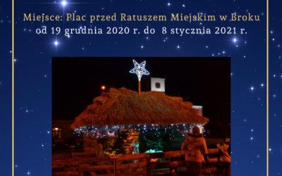 Żywa szopka bożonarodzeniowa w Broku