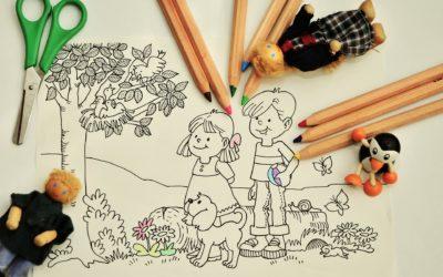 """Zachęcamy uczniów szkół podstawowych z terenów wiejskich do udziału w Ogólnopolskim Konkursie Plastycznym """"Bezpiecznie na wsi"""""""