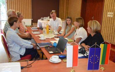 Robocze spotkanie w sprawie międzynarodowego projektu współpracy