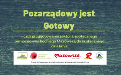 Zapraszamy do udziału w spotkaniu organizacji pozarządowych w Lipiance w dniach 9 – 10 października br.
