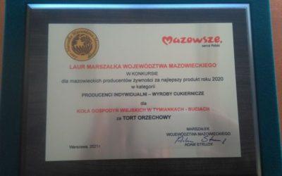 Producenci z obszaru LGD w gronie laureatów w Konkursie o Laur Marszałka Województwa Mazowieckiego